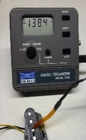 Gaußmeter mit Hall-Sonde